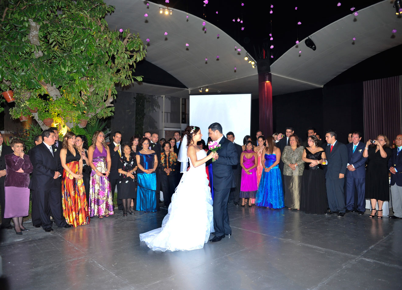 La recepción de la boda